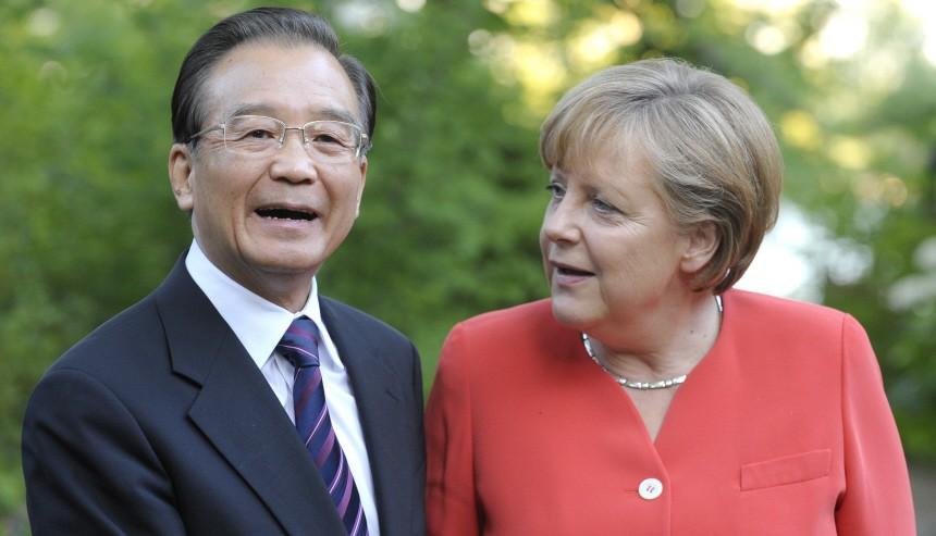 Chinesischer Minsterpraesident besucht Deutschland