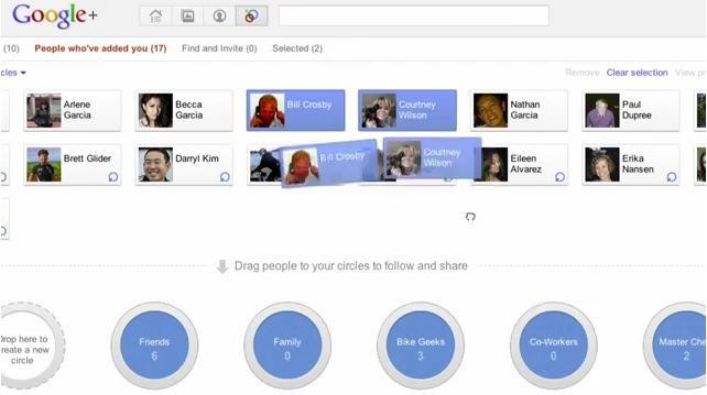 Google Plus Screenshot