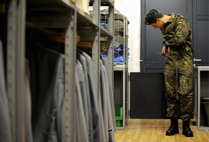 Bundeswehr Soldat Wehrpflicht