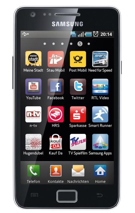 Samsung Galaxy S2 schneidet im Test als bestes Smartphone ab