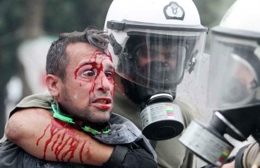 48- hour general strike in Greece