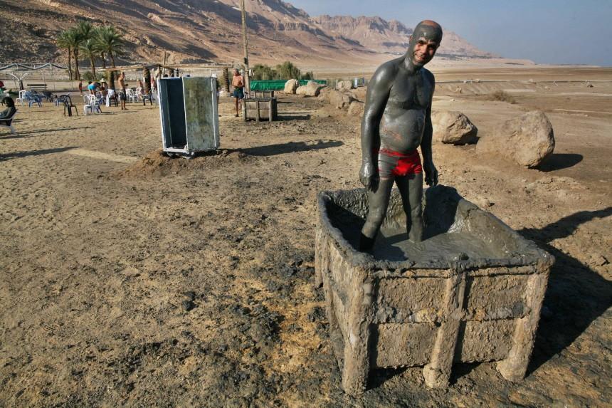 Tourismus am Toten Meer - Wasserspiegel sinkt
