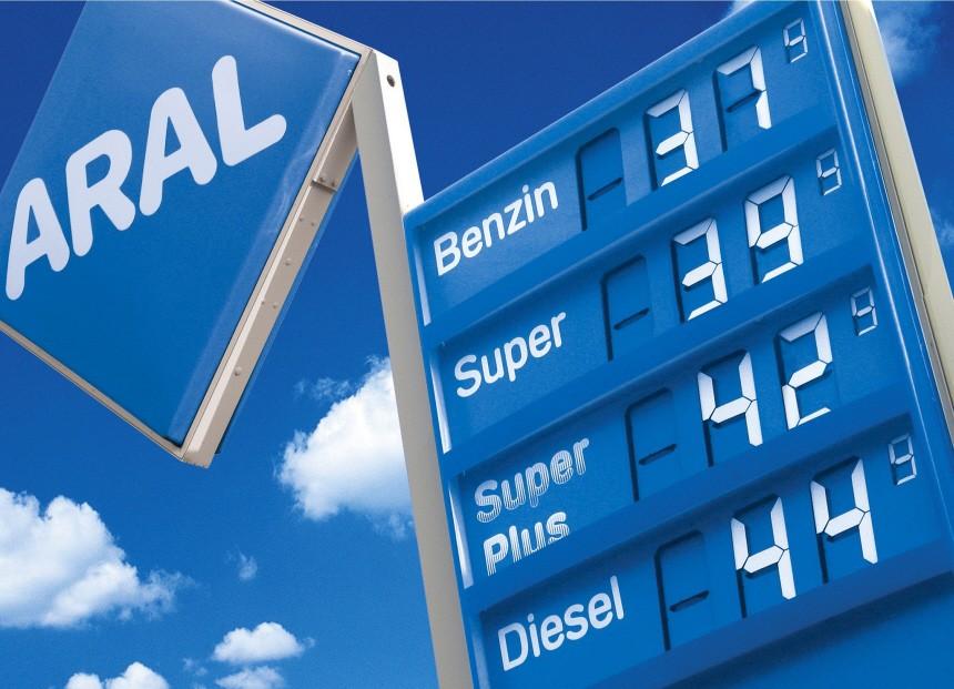 Benzinpreise 2005