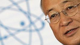 Welt-Atombehörde: Der neue Generaldirektor der IAEA: Yukiya Amano.
