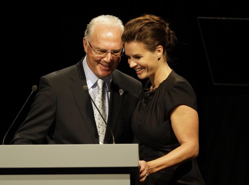 Franz Beckenbauer, Katarina Witt