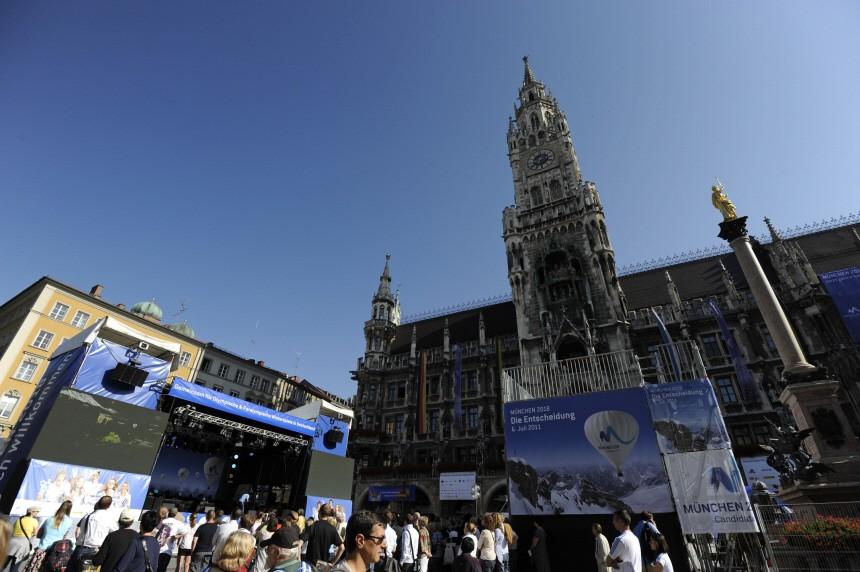 IOC-Entscheidung Olympia 2018 - Public Viewing München