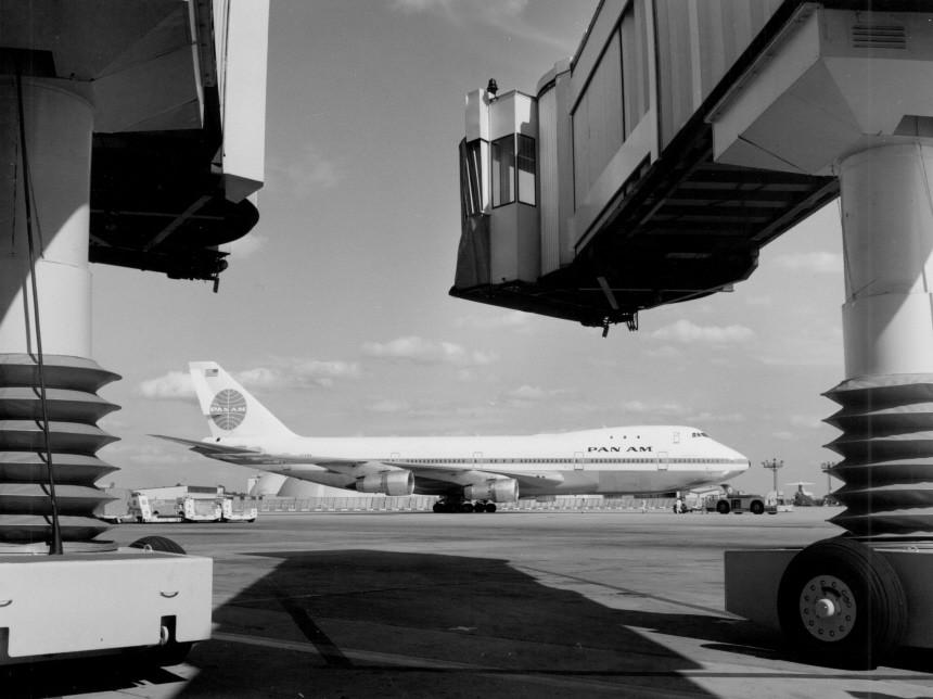 "75 Jahre Flughafen Frankfurt Pan-Am Jumbo ""Clipper Boston"""