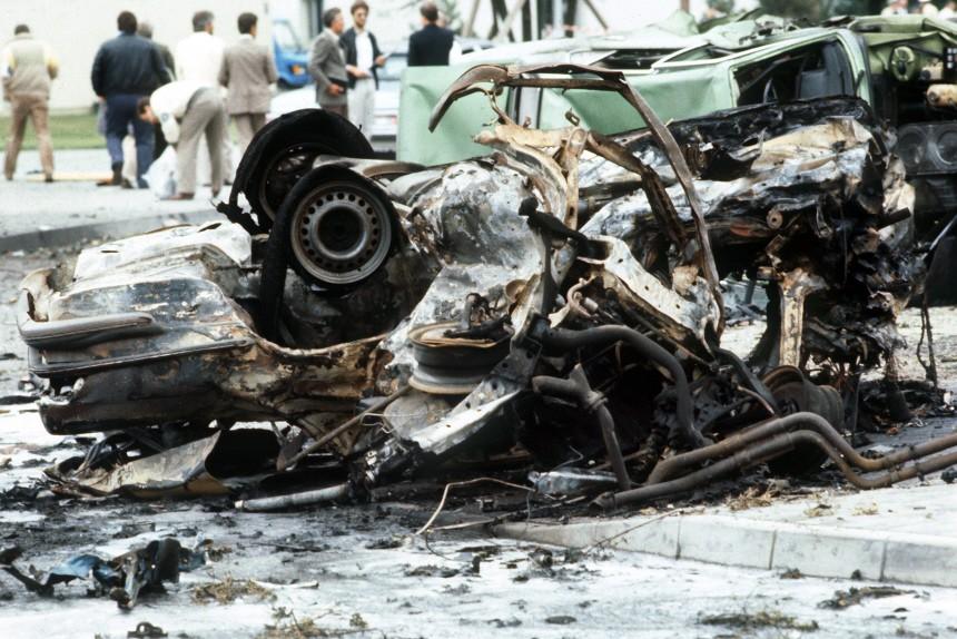 1985 - Anschlag auf US-Airbase Frankfurt
