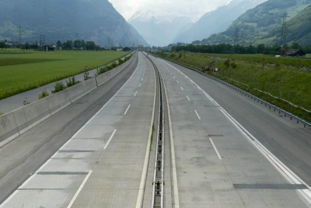 Gotthard-Autobahn gesperrt