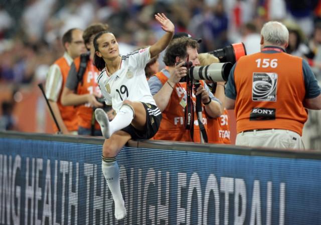 Frauen-WM 2011 - Frankreich - Deutschland