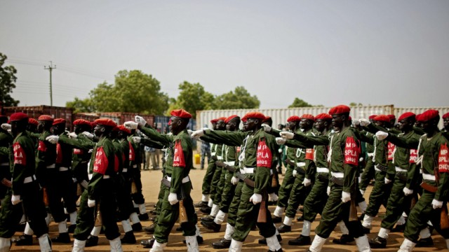 Southern Sudan Independence Preparation