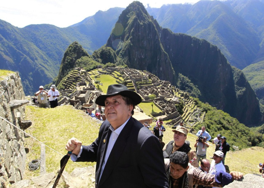 Peru celebrates the one hundredth anniversary of the discovery of