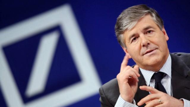 Deutsche Bank rechnet fuer 2008 mit Milliardenverlust