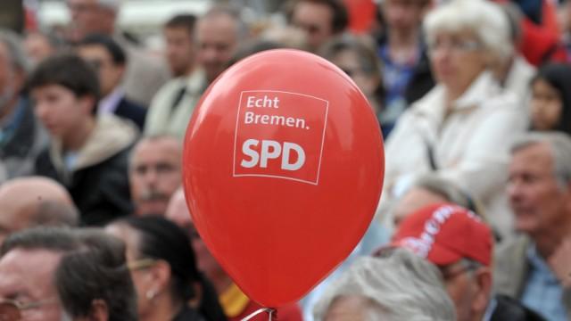 SPD-Wahlkampfkundgebung in Bremen