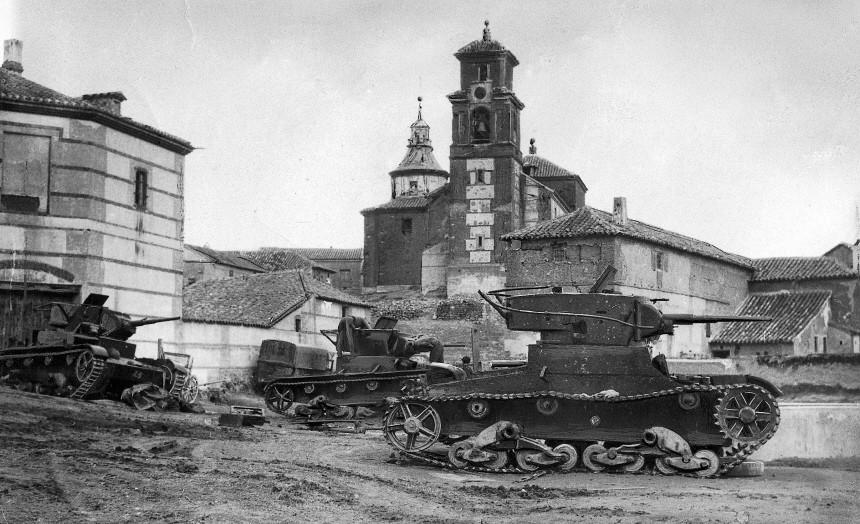 Spanischer Bürgerkrieg 1936   Spanish Civil War 1936