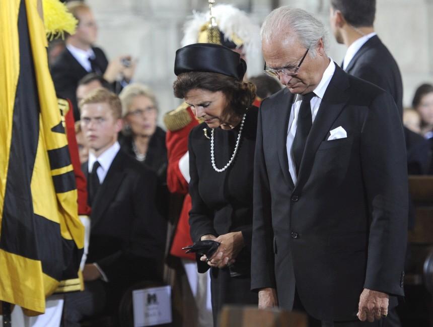 Funeral ceremonies for late Otto von Habsburg