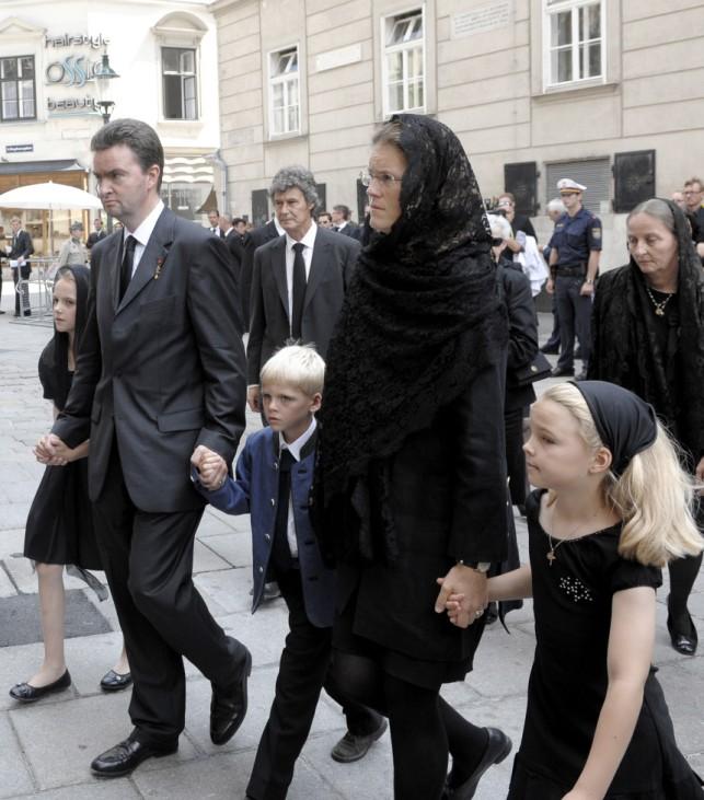 Beerdigung Otto von Habsburg