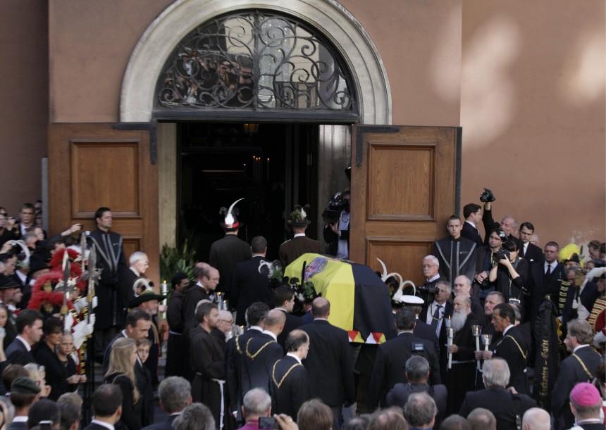 Beerdigung von Otto Habsburg