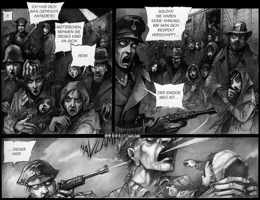 Holocaust im Comic, Ausstellung, Ralf Palandt