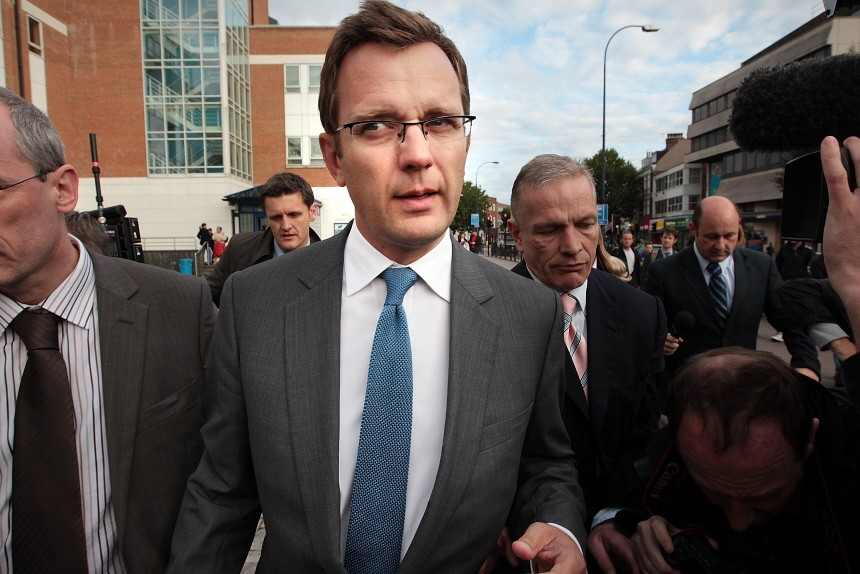 BESTPIX  Former News Of The World Editor Andy Coulson Faces Arrest As Part Of Phone Hacking Investigation