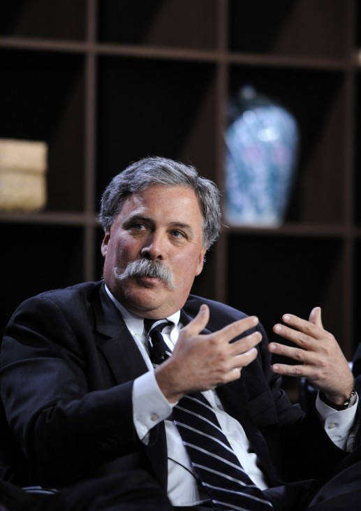 File photo of Carey, president and chief operating officer of News Corporation, participating in the 2010 Milken Institute Global Conference in Beverly Hills