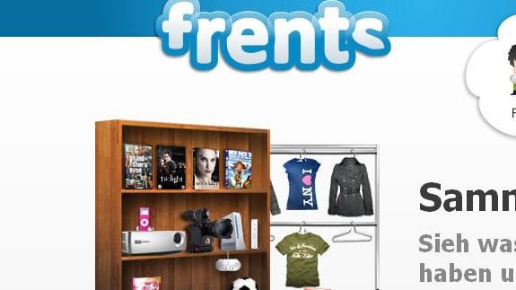 frents.com Screenshot