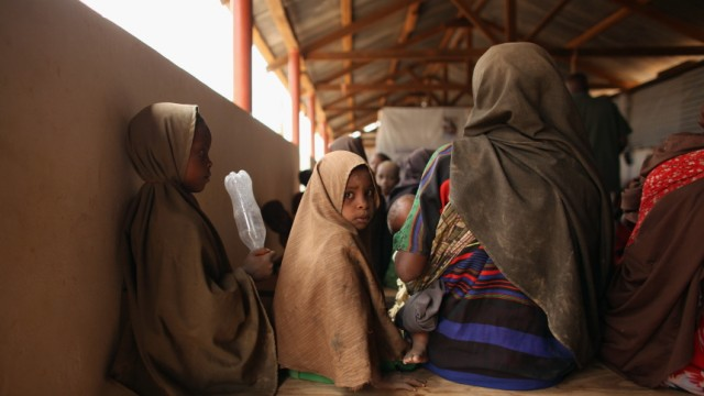 Displaced People At Dadaab Refugee Camp As Severe Drought Continues To Ravage East Africa