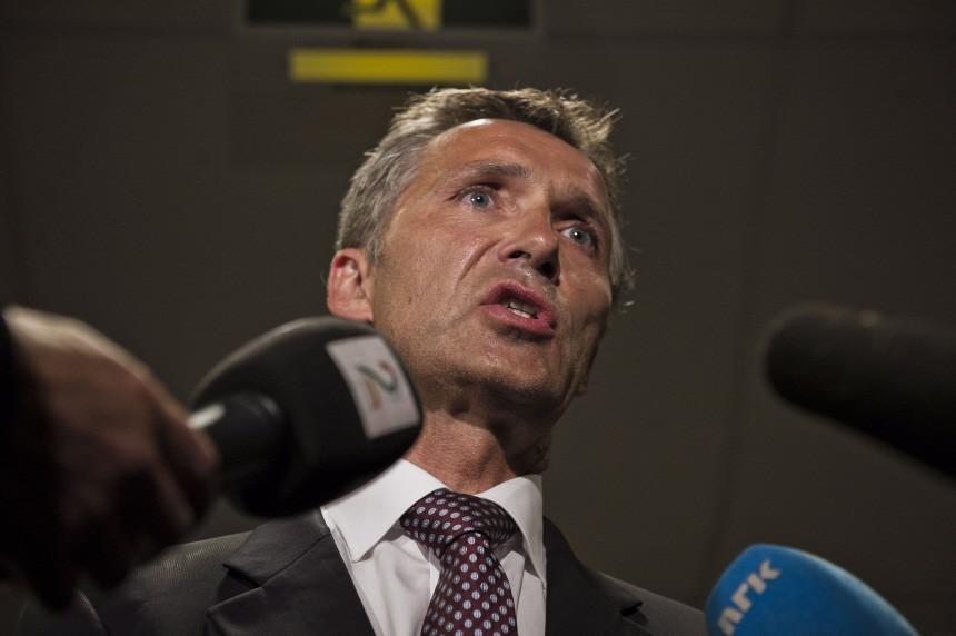 Stoltenberg press conference