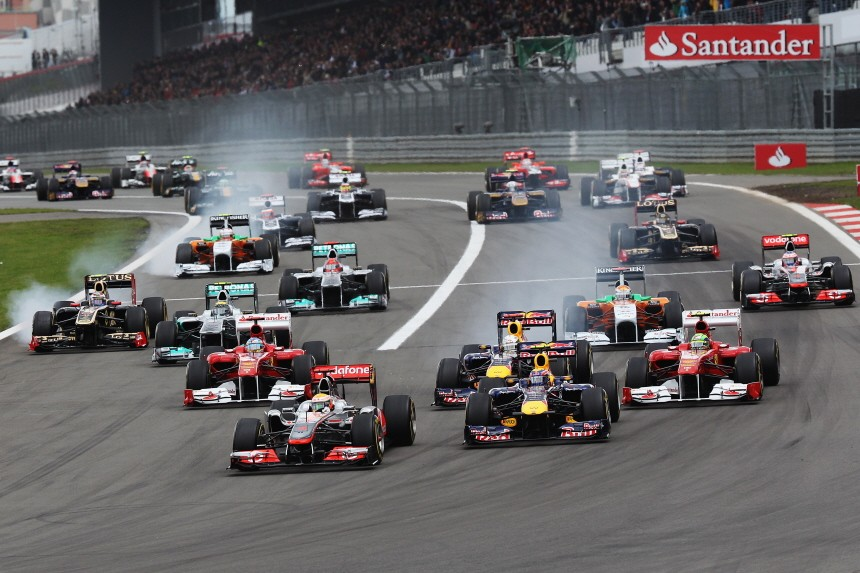 German F1 Grand Prix - Race