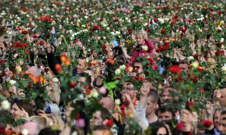 Norway attacks - Rose Walk