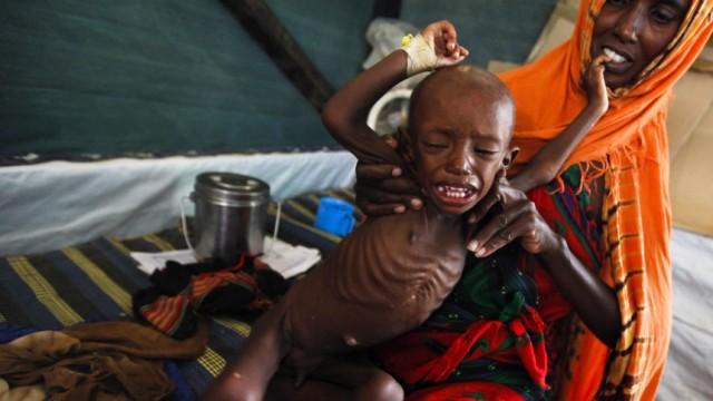 Hungerkatastrophe in Afrika - Treffen in Rom