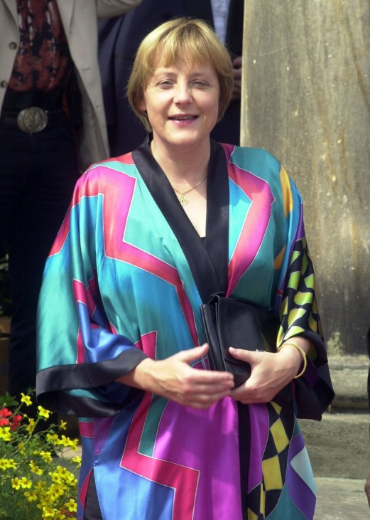 Angela Merkel in Bayreuth, 2002