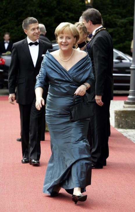 Bayreuther Festspiele - Angela Merkel und ihr Mann Joachim Sauer