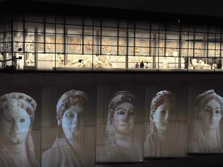 Griechenland Athen Akropolis Museum, AFP