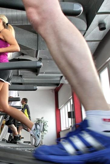 Fitnessstudio, Laufband