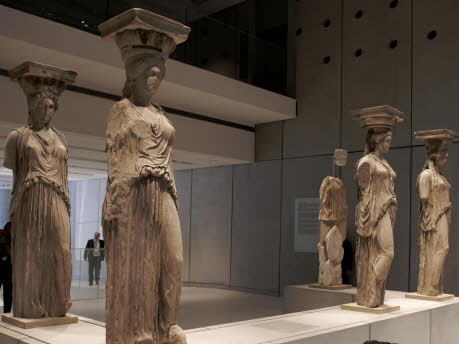Griechenland Athen Akropolis Museum, Getty Images