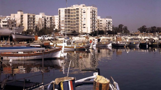 Hafen von Limassol auf Zypern
