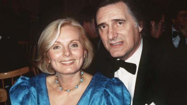 Ruth Maria Kubitschek und Helmut Fischer.