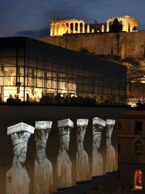 Griechenland Athen Akropolis Museum, Reuters