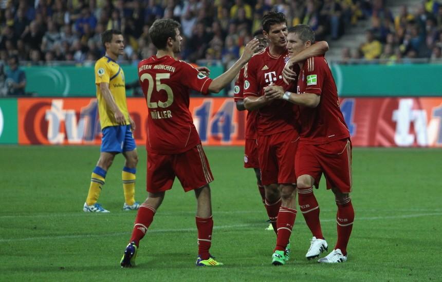 Eintracht Braunschweig v FC Bayern Muenchen - DFB Cup