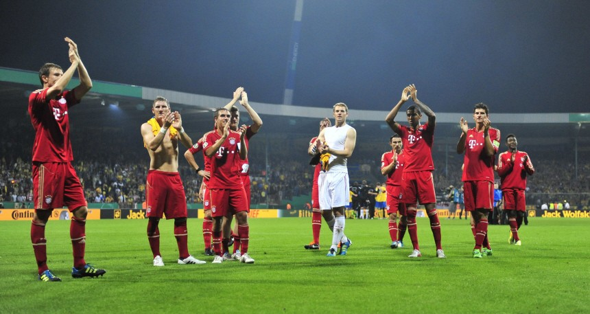 DFB-Pokal - Eintracht Braunschweig - FC Bayern München