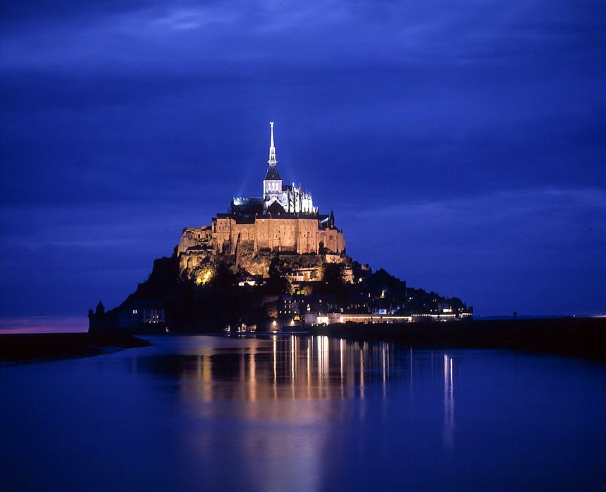 Mont Saint-Michel Normandie Frankreich