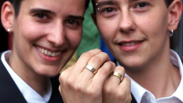 Homosexuelles Paar