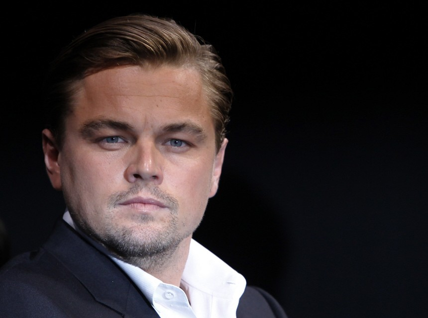 File picture of actor Leonardo DiCaprio, who is No.1 on the list of Hollywood's highest-earning actors