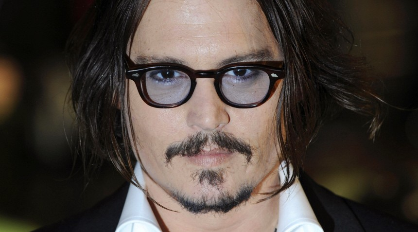 File picture of actor Johnny Depp, who is No.2 on the list of Hollywood's highest-earning actors