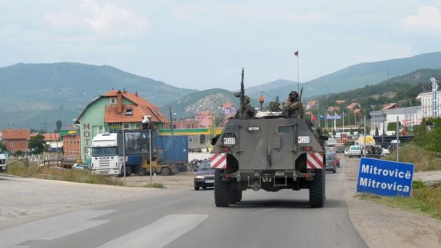 Kosovo-Konflikt - Bundeswehr in Mitrovica