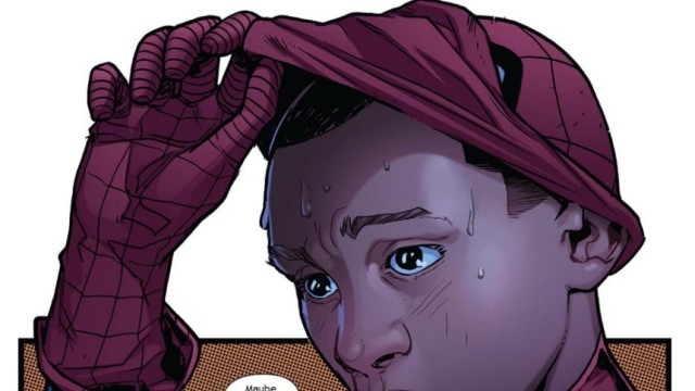Handout shows new Spider-Man for Obama-age -- a half-black, half-Latino nerd named Morales, as unveiled by Marvel Comics