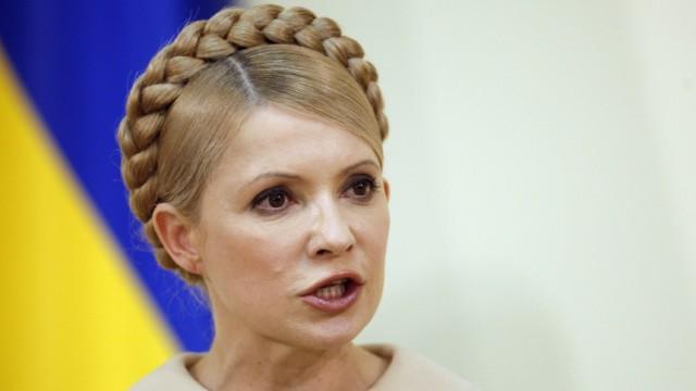 Vor Präsidentenwahl in der Ukraine - Julia Timoschenko