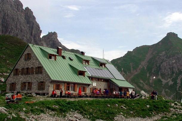 Umwelttechnik in Berghütte