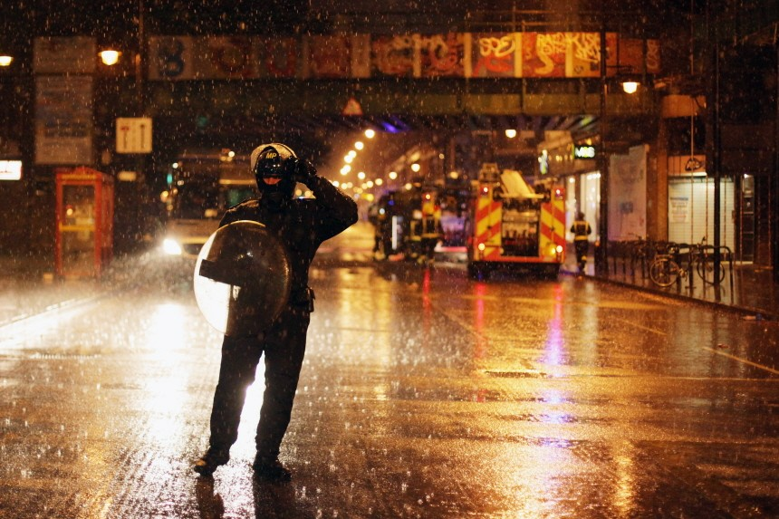 Rioting Breaks Out Across London